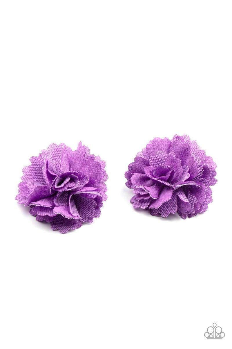Never Let Me GROW - Purple Hair Clip