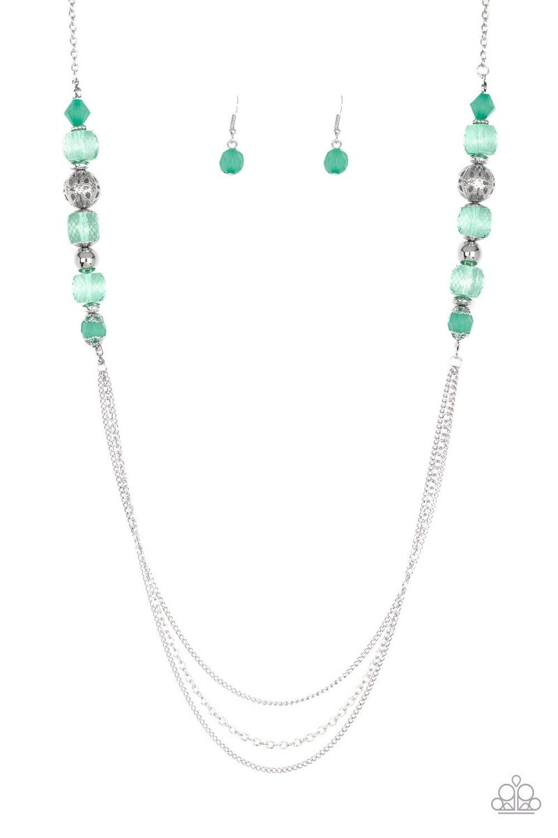 Native New Yorker - Green Necklace