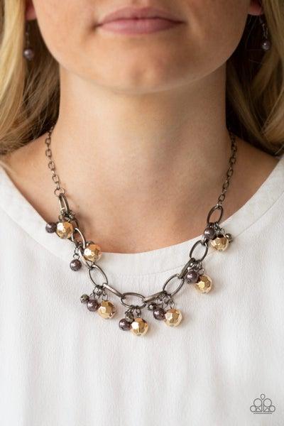 Malibu Movement - Gunmetal Necklace