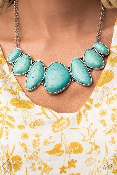 Primitive - Blue Necklace - September 2020 Fashion Fix