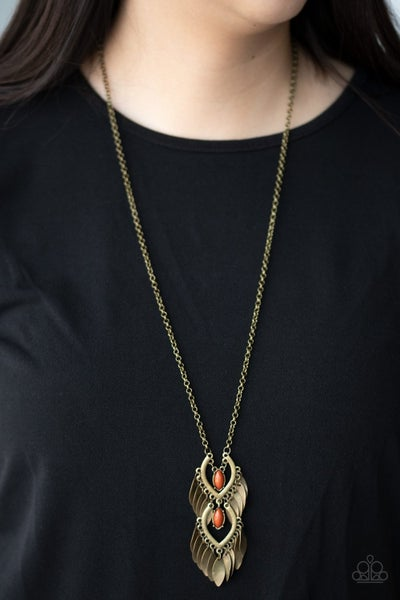 Summer SOUL-stice - Brass Necklace