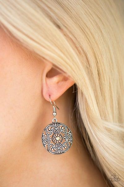 Rochester Royale - Yellow Earrings