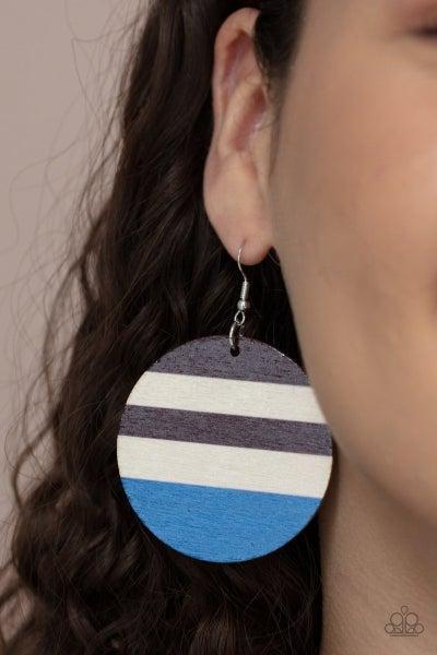 Yacht Party - Blue Earrings