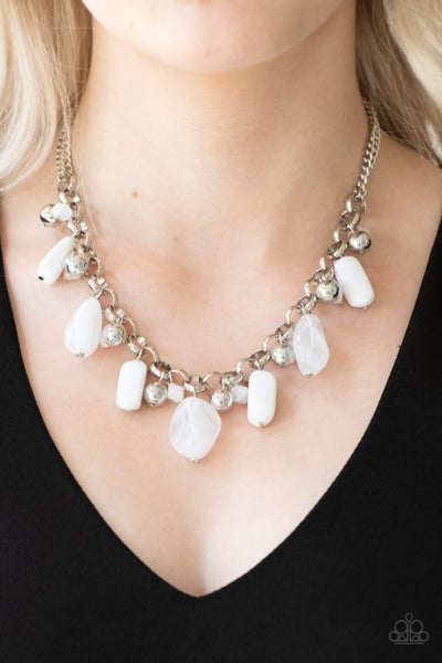 Grand Canyon Grotto - White Necklace