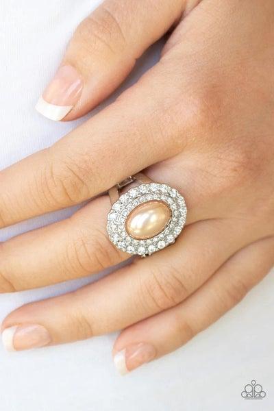 Sprinkle On The Shimmer - Brown Ring