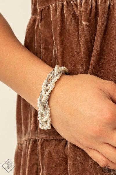 Vintage Variation - White - Bracelet - March 2021 Fashion Fix