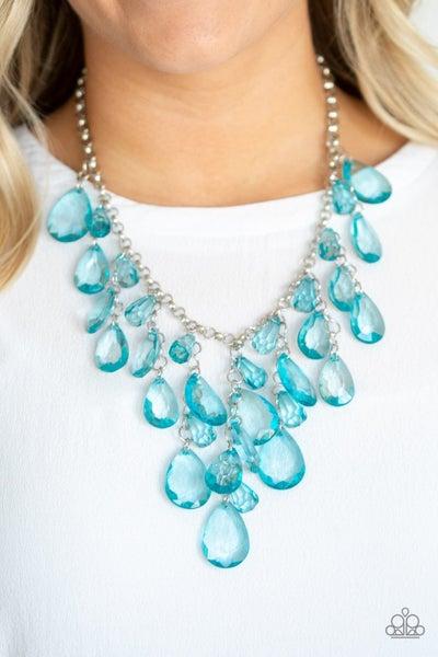 Irresistible Iridescence - Blue Necklace