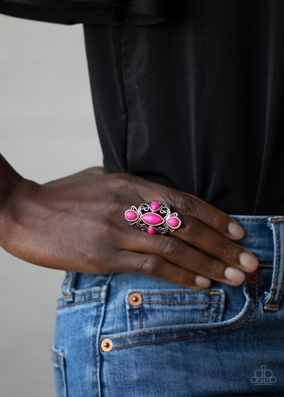 Sahara Sweetheart - Pink Ring