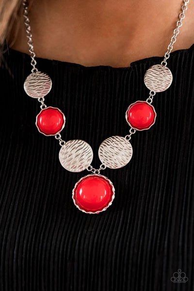 Bohemian Bombshell - Red Necklace