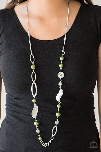 All About Me - Green Necklace