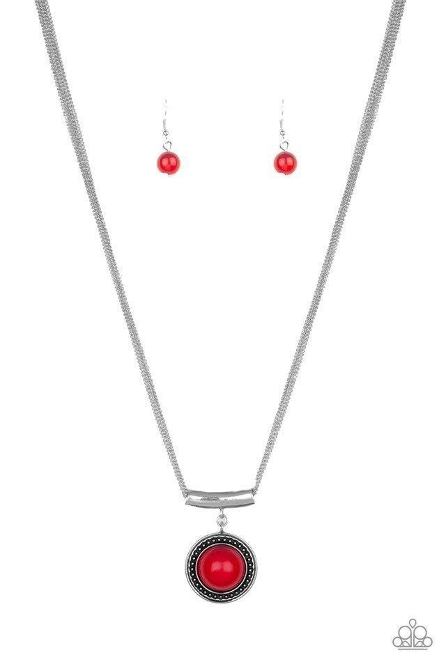 Gypsy Gulf - Red Necklace