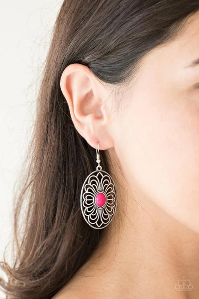 Really Whimsy - Pink Earrings