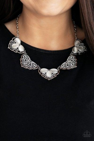 East Coast Essence - White Necklace