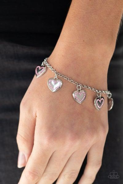 Matchmaker, Matchmaker - Pink Clasp Bracelet