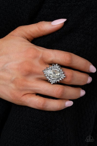 Five-Star Stunner - Gunmetal Ring