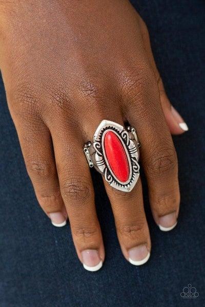 Santa Fe Serenity - Red Ring