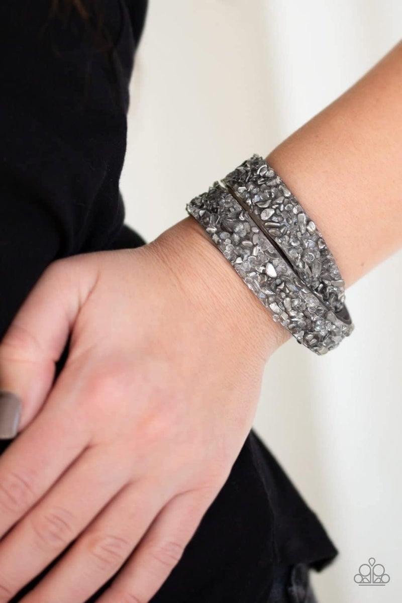 Crush Hour - Silver Snap Wrap