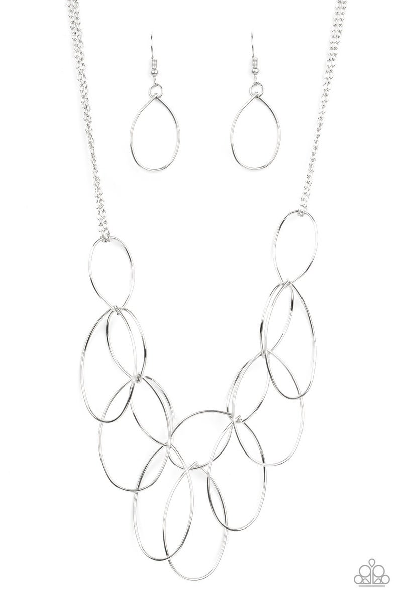 Top-TEAR Fashion - Silver Necklace