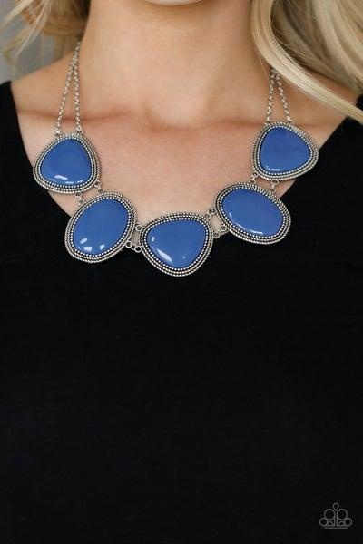 Viva La Vivid - Blue Necklace