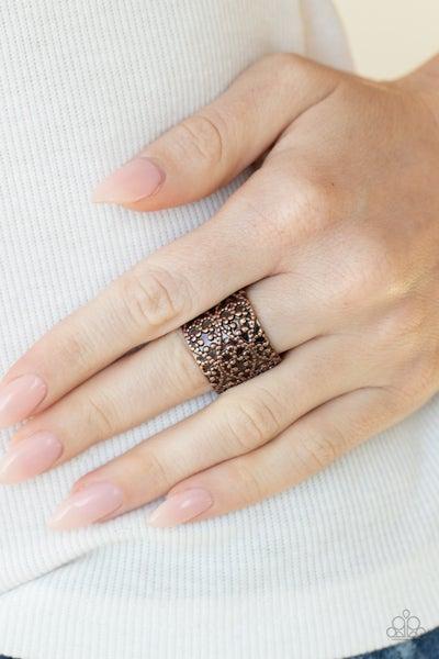 Rustic Regalia - Copper Ring