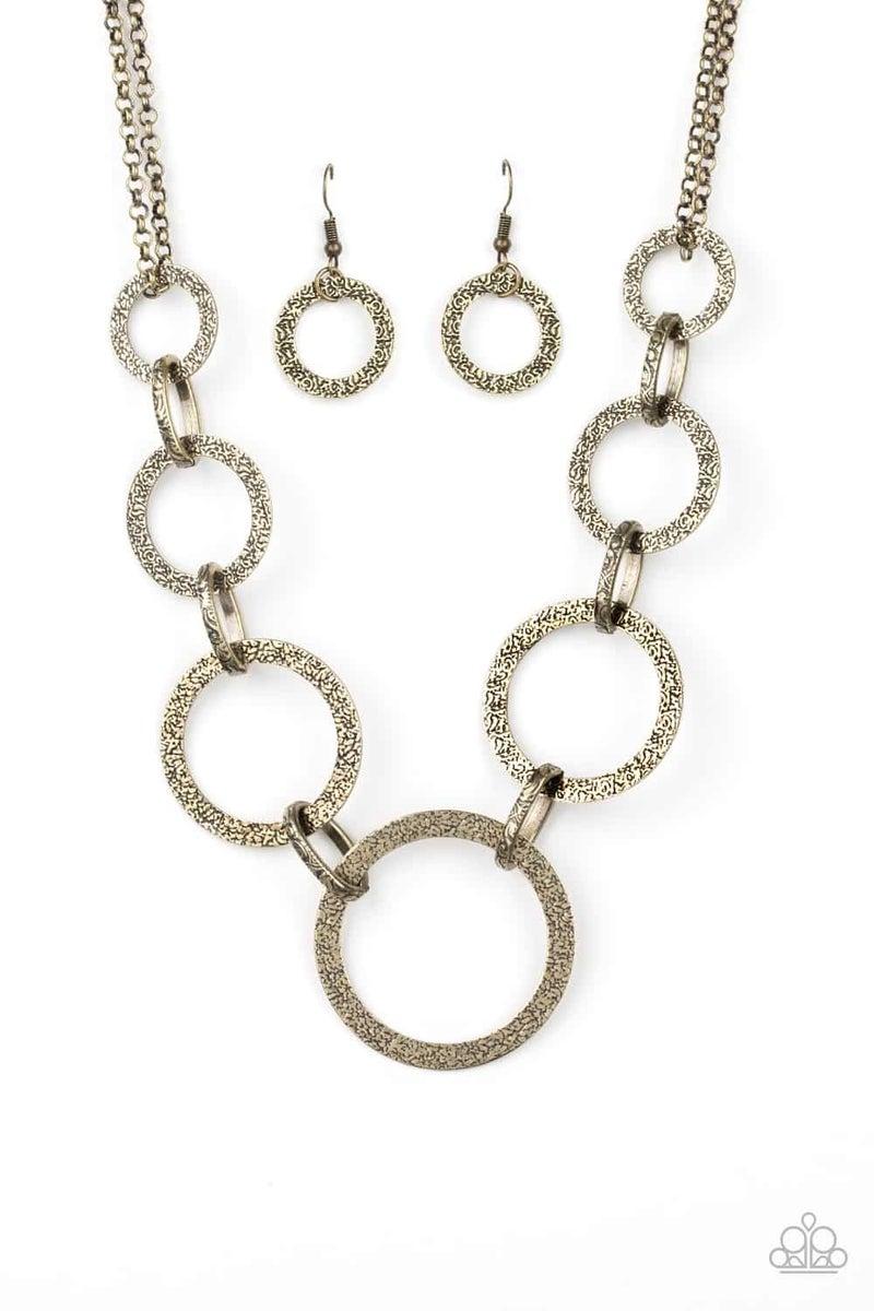 City Circus - Brass Necklace