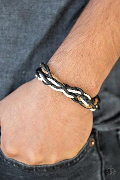 Mountain Quest - Black Urban Bracelet