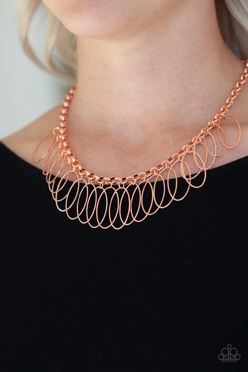 Fringe Finale - Copper Necklace