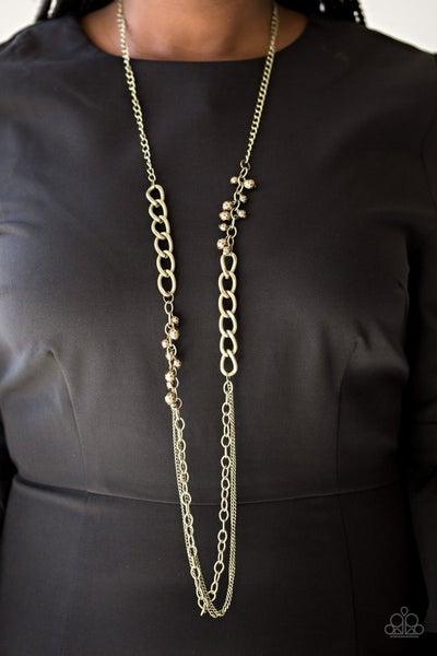 Mega Megacity - Brass Necklace