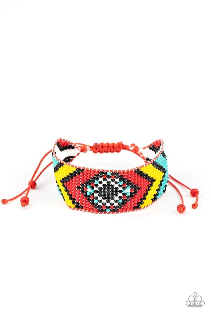 Desert Dive - Red Bracelet
