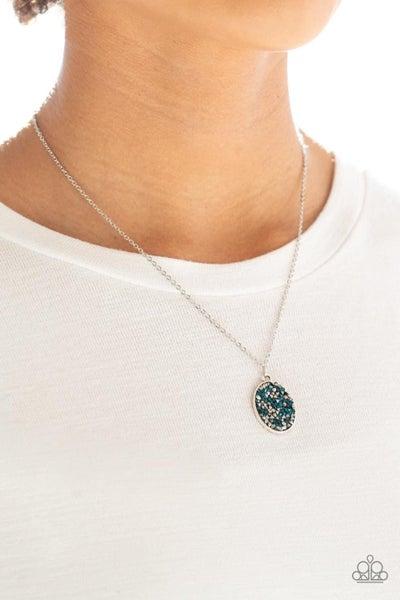 Star-Crossed Stargazer - Blue Necklace