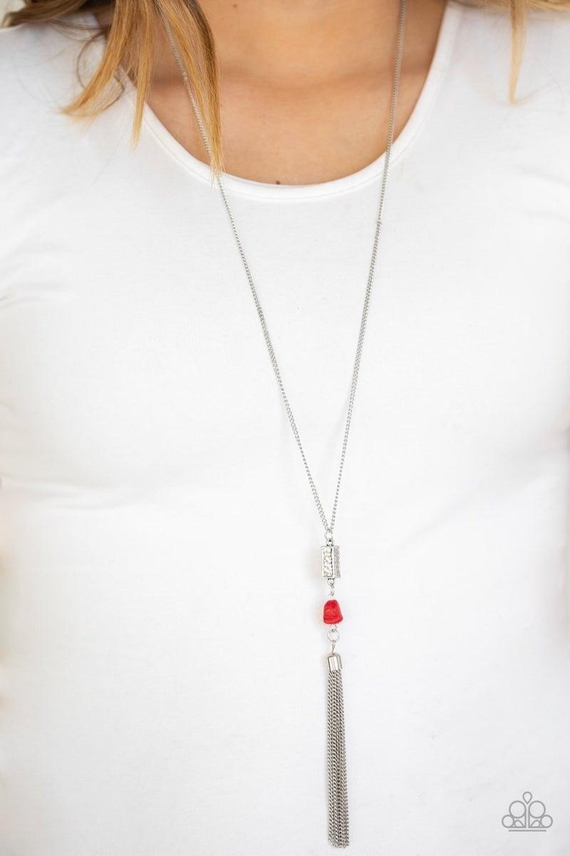 Wild Horse Wonder - Red Necklace