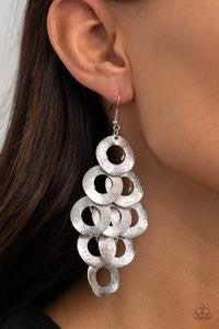 Scattered Shimmer - Silver Earrings