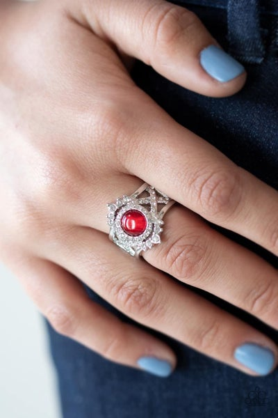 Decadently Dreamy - Red Ring