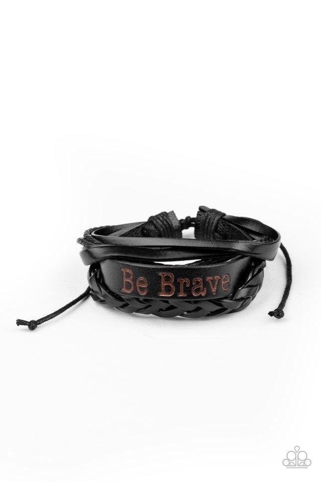 Brave Soul - Black Urban Bracelet