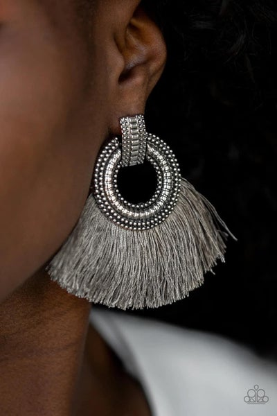 I Am Spartacus - Silver Earrings