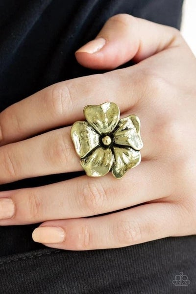 Tropical Gardens - Brass Ring