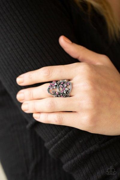 Bouquet Toss - Pink Ring