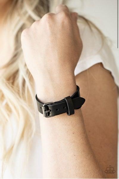 Tougher Than Leather - Black Urban Bracelet