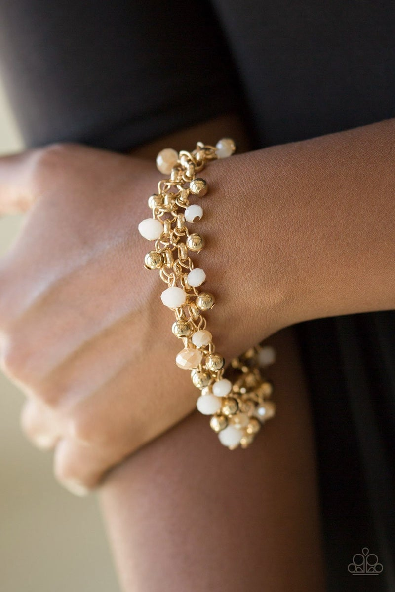Just For The FUND Of It! - Gold Clasp Bracelet
