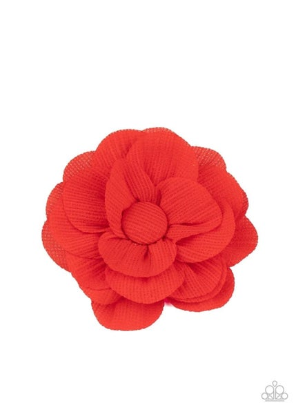 Summer Soiree - Red Hair Clip