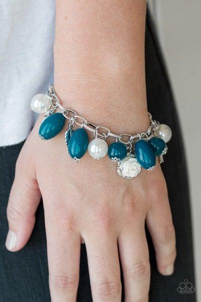 Love Doves - Blue Clasp Bracelet