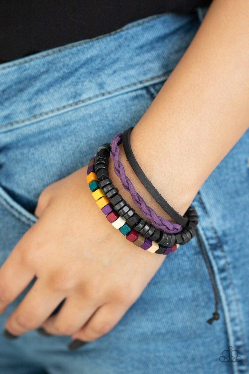 Technicolor Timberland - Multi Urban Bracelet