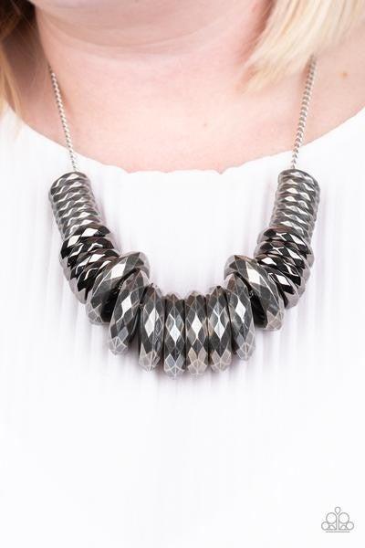 Haute Hardware - Silver Necklace