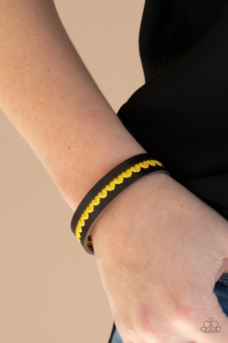 Made With Love - Yellow Snap Wrap