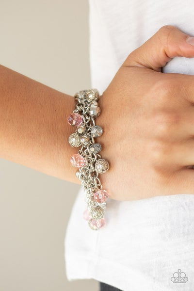 The Party Planner - Pink Clasp Bracelet