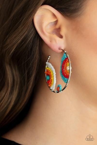 Rainbow Horizons - Multi Earrings - Life of the Party Exclusive July 2021