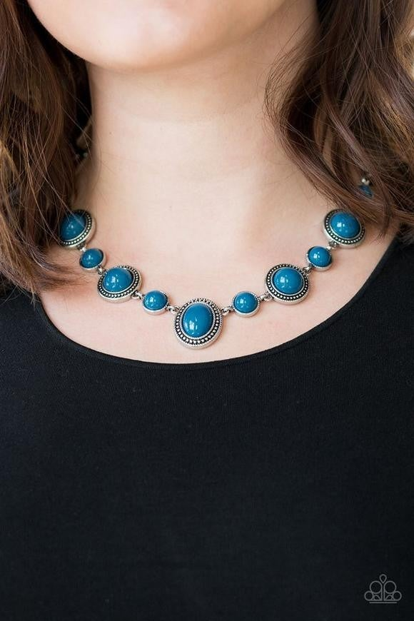 Voyager Vibes - Blue Necklace
