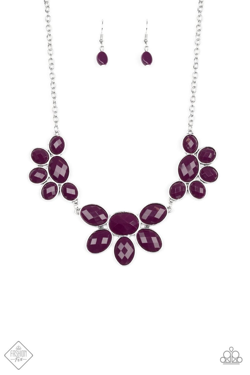Flair Affair - Purple Necklace