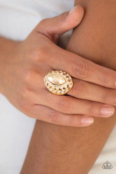 Royal Radiance - Gold Ring