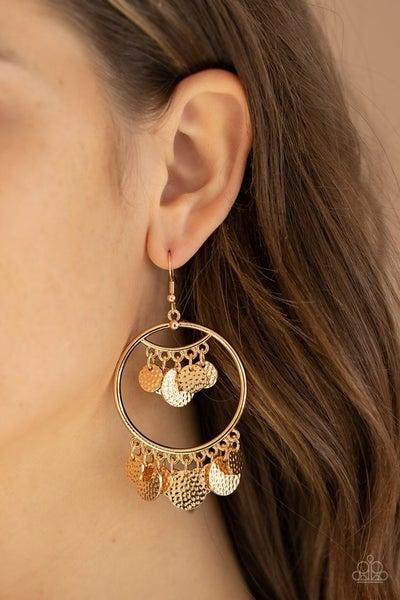 All-CHIME High - Gold Earrings